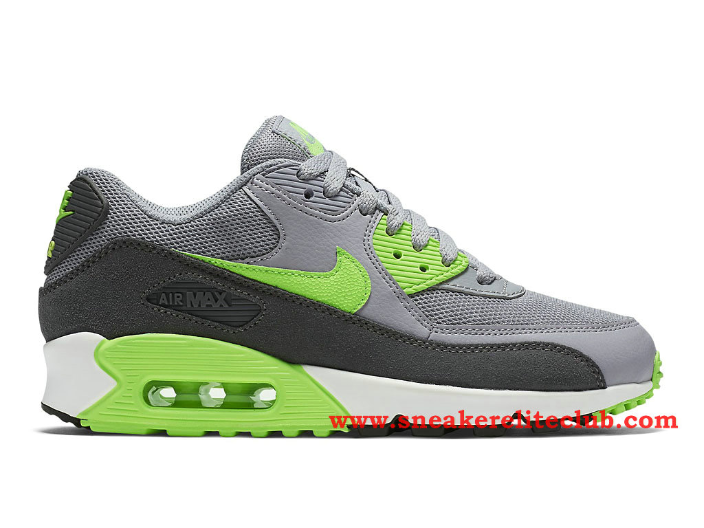 nike allenatore air huarache - Nike Air Max 90 Essential -Men��s Shoes Gray/Black/Green 616730_022 ...