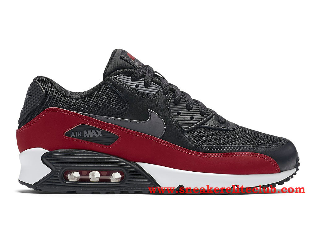 nike air max 90 essential chaussure pour homme noir rouge 537384 062 1512221372 chaussure. Black Bedroom Furniture Sets. Home Design Ideas