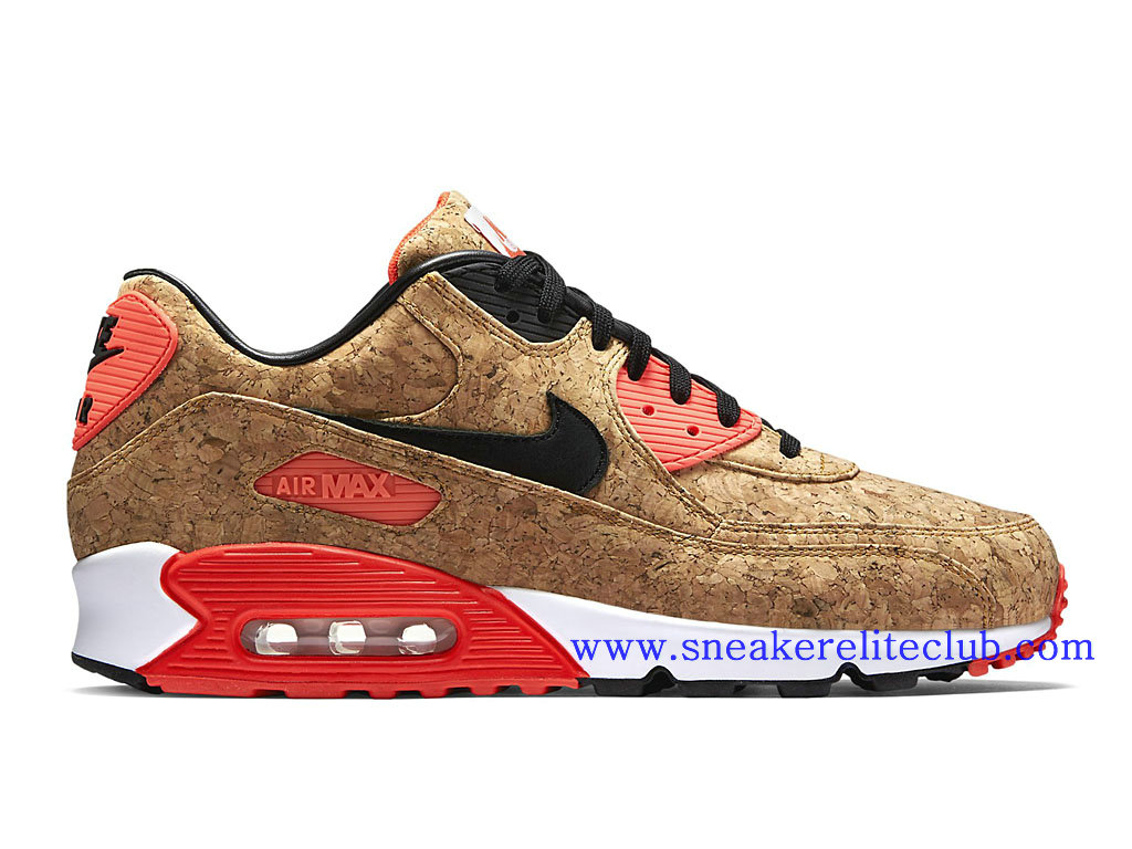 new concept 88bf7 4b3b6 ... Nike Air Max 90 Infrared Cork Shoes Cheap For Men´s BronzeBlack- . ...