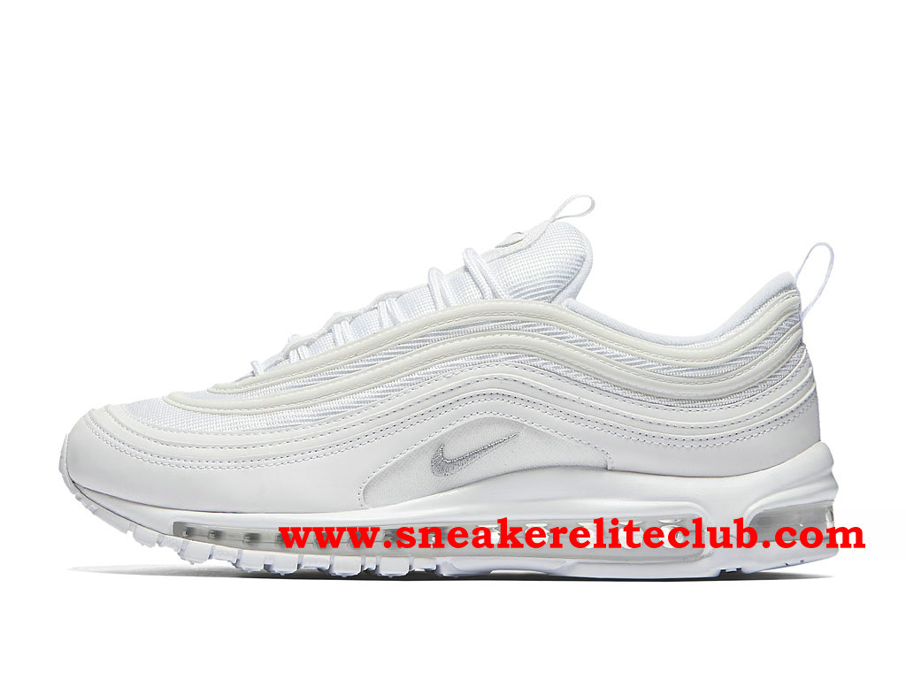Nike Air Max 97 Chaussures De Running Pas Cher Prix Pour Homme White 921826_101