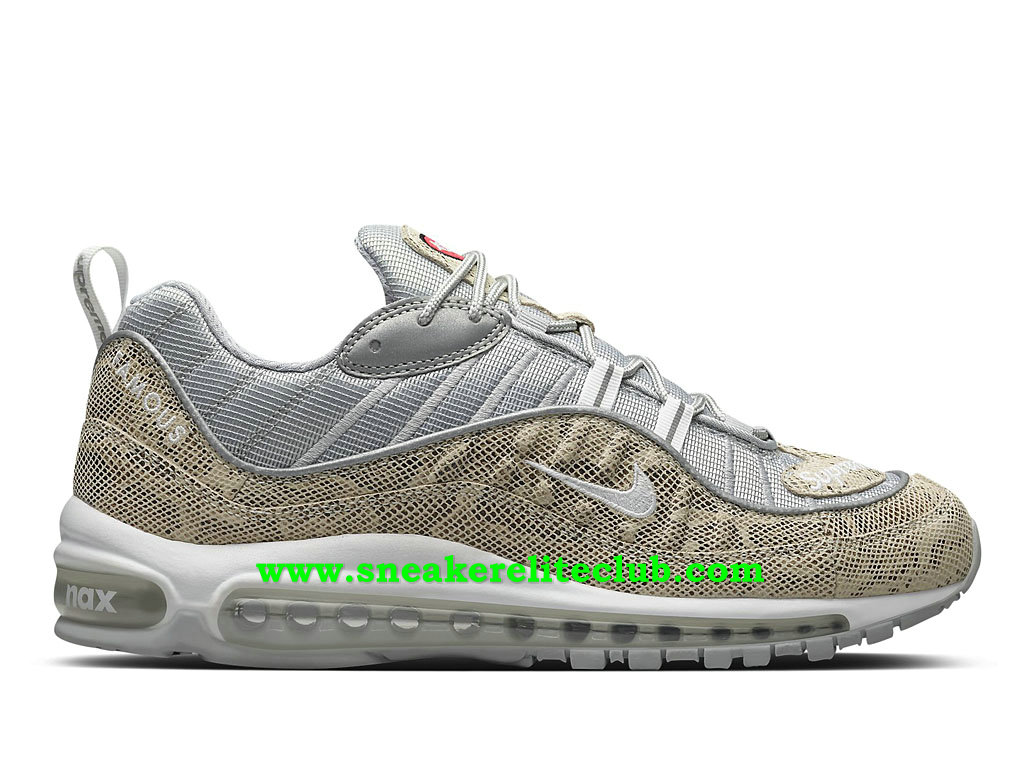 Nike Air Max 98 Chaussures Prix Pas Cher Pour Homme Sail Snake 844694_100