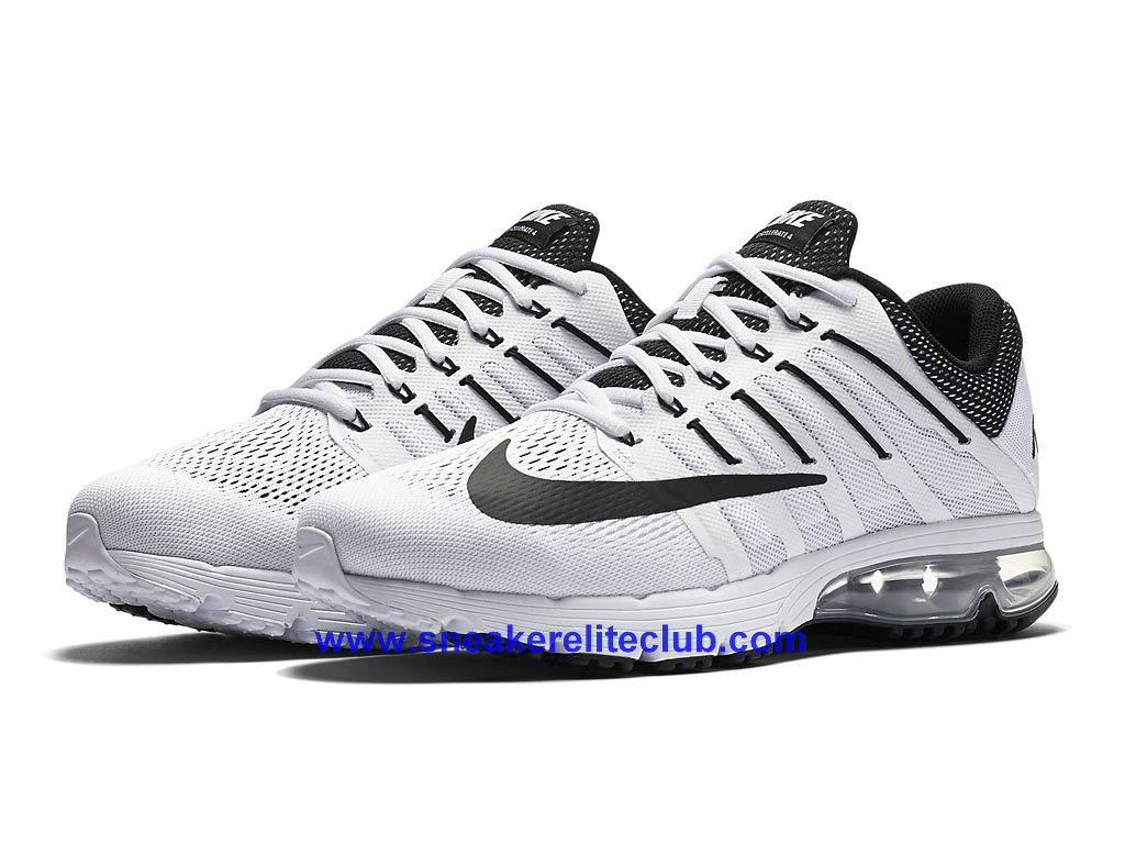 nike air max excellerate 4 chaussures de course pas cher pour homme blanc noir 806770 101. Black Bedroom Furniture Sets. Home Design Ideas