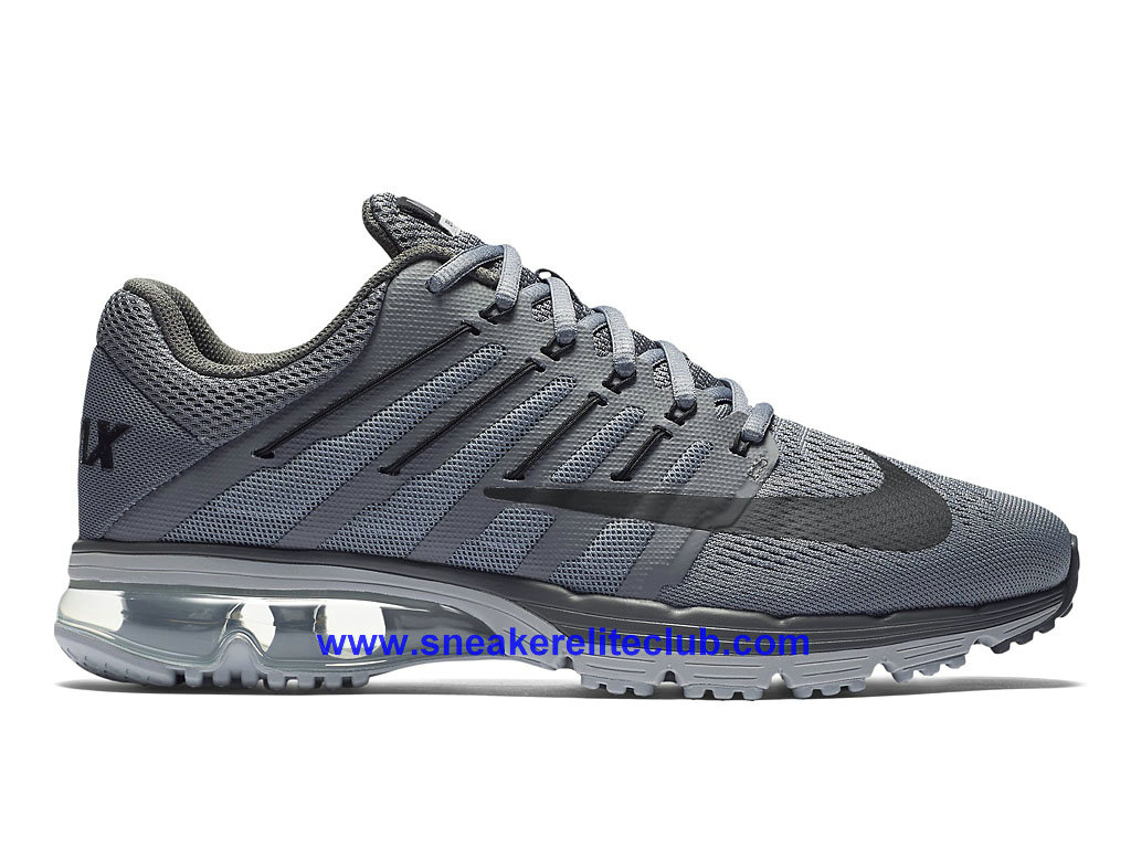 Inexpensive 245835 Nike Air Max Excellerate Men Black Silver Grey Shoes
