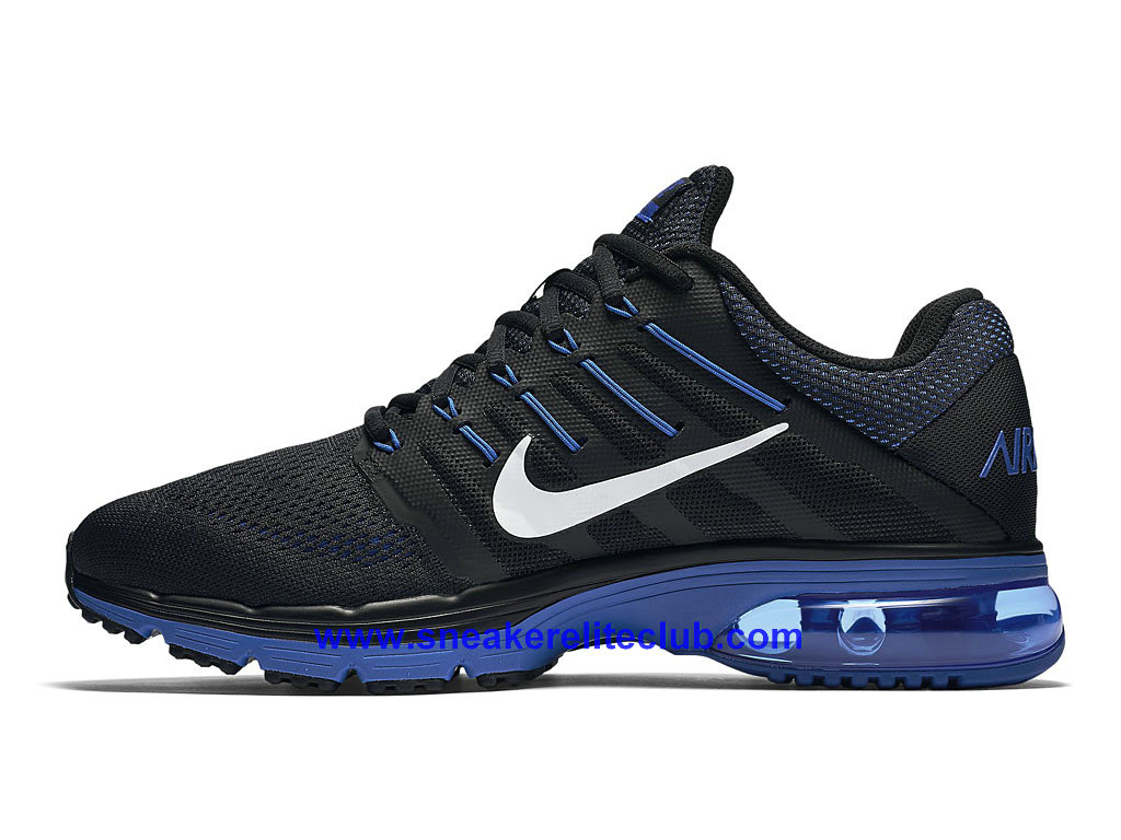 nike air max excellerate 4 chaussures de course pas cher pour homme noir bleu blanc 806770 044. Black Bedroom Furniture Sets. Home Design Ideas