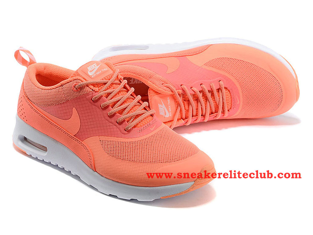 Nike Air Max Thea Atomic Pink -Chaussures De Running Pas Cher Pour Femme/Fille Rose 599409-600