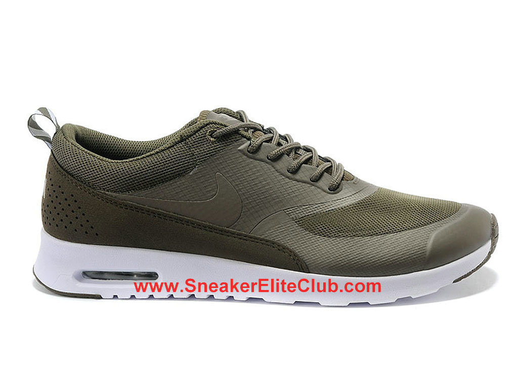 Nike Air Max Thea Chaussure Homme Olive Blanc 599408-221
