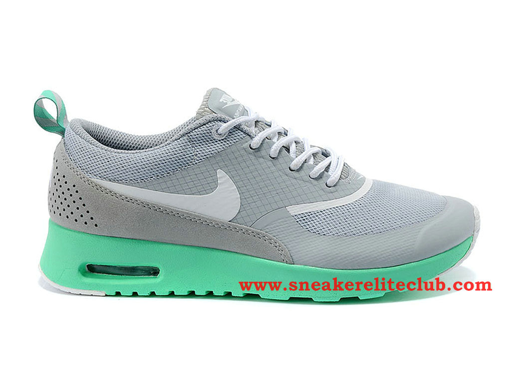 Nike Air Max Thea GS Chaussure Pour Femme/Fille Gris/Vert 599408-A001