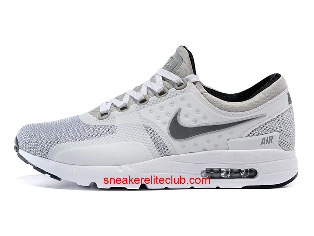 timeless design 1c96c 3d85a Nike Air Max Zero Cheap Shoes For Men´s White Gray Black 789695-106