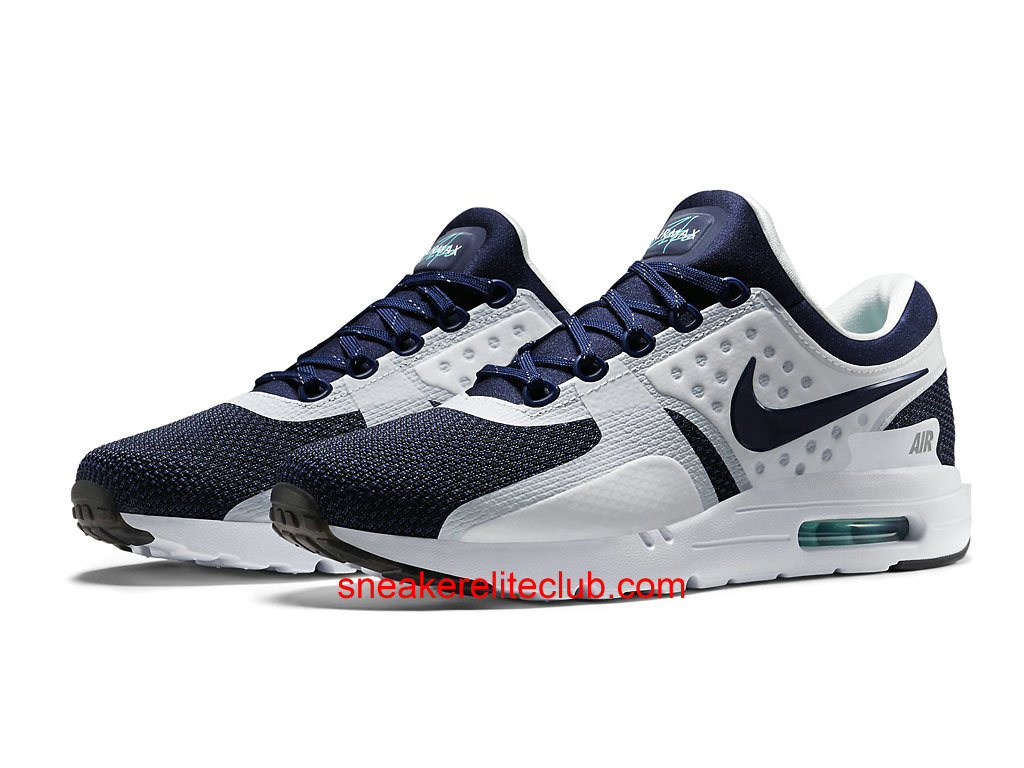 nike air max zero chaussure homme pas cher blanc noir bleu 789695 104 1602271835 chaussure. Black Bedroom Furniture Sets. Home Design Ideas