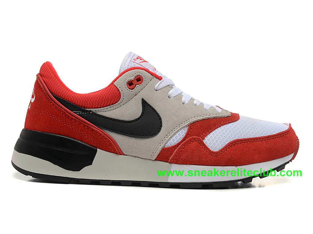 Nike Air Odyssey Chaussure De Course Pas Cher Pour Homme University Red 652989-ID2