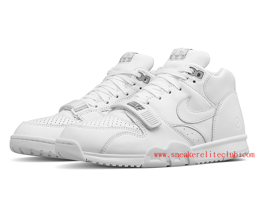 info for 7275a 39065 ... Nike Air Trainer 1 Mid SP Fragment Men´s White ...