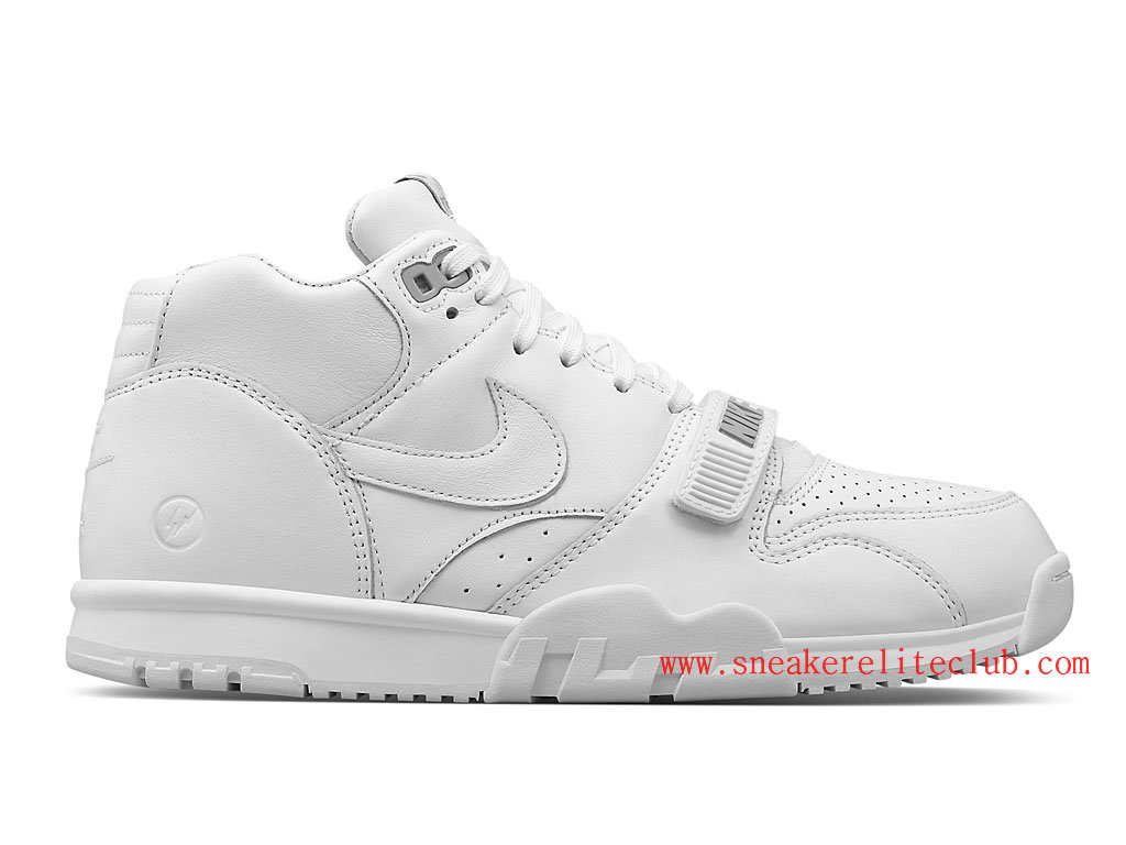 Nike Air Trainer 1 Mid SP Fragment Homme Blanc 806942-110