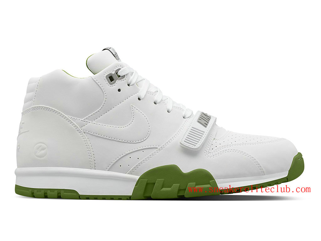 Nike Air Trainer 1 Mid SP Fragment Homme Blanc Vert 806942-113