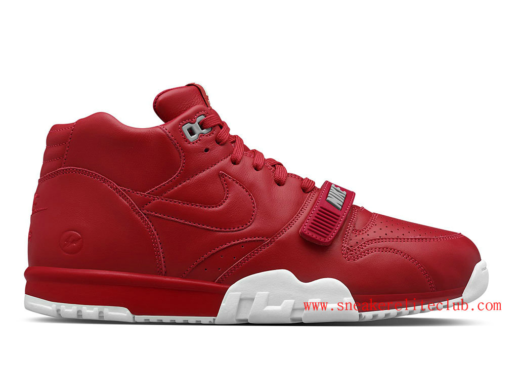 Nike Air Trainer 1 Mid SP Fragment Homme Rouge 806942-661
