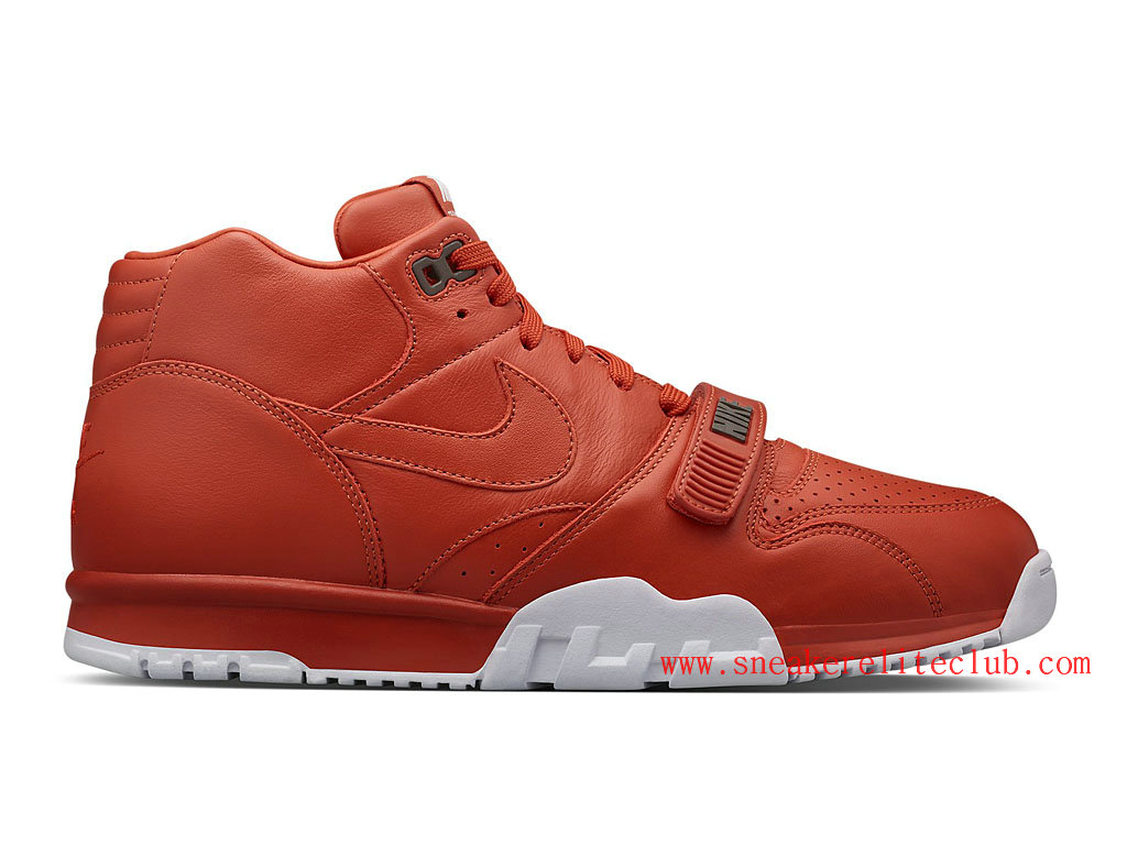 huge selection of 170a9 3f9fa Nike Air Trainer 1 Mid SP Fragment Men´s RustRustWhite 806942 ...