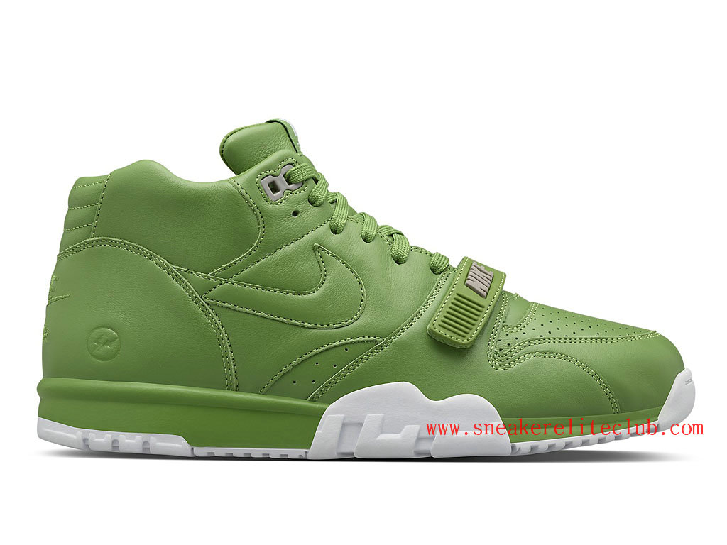 Nike Air Trainer 1 Mid SP Fragment Homme Vert Blanc 806942-331