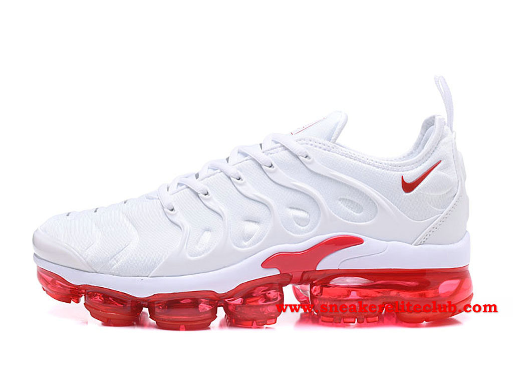 nike air vapormax plus blanc bleu