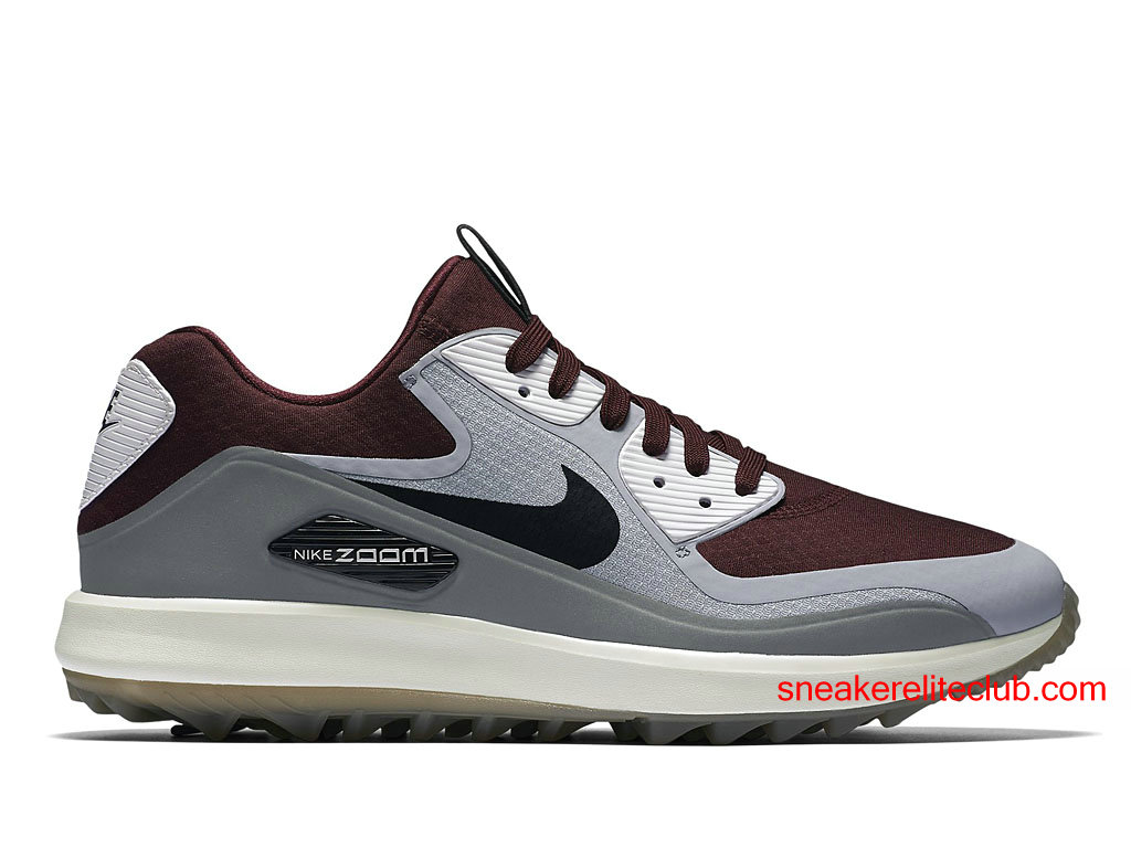 nike air zoom 90 it chaussures de golf pas cher pour homme gris brun blanc 844569 600. Black Bedroom Furniture Sets. Home Design Ideas