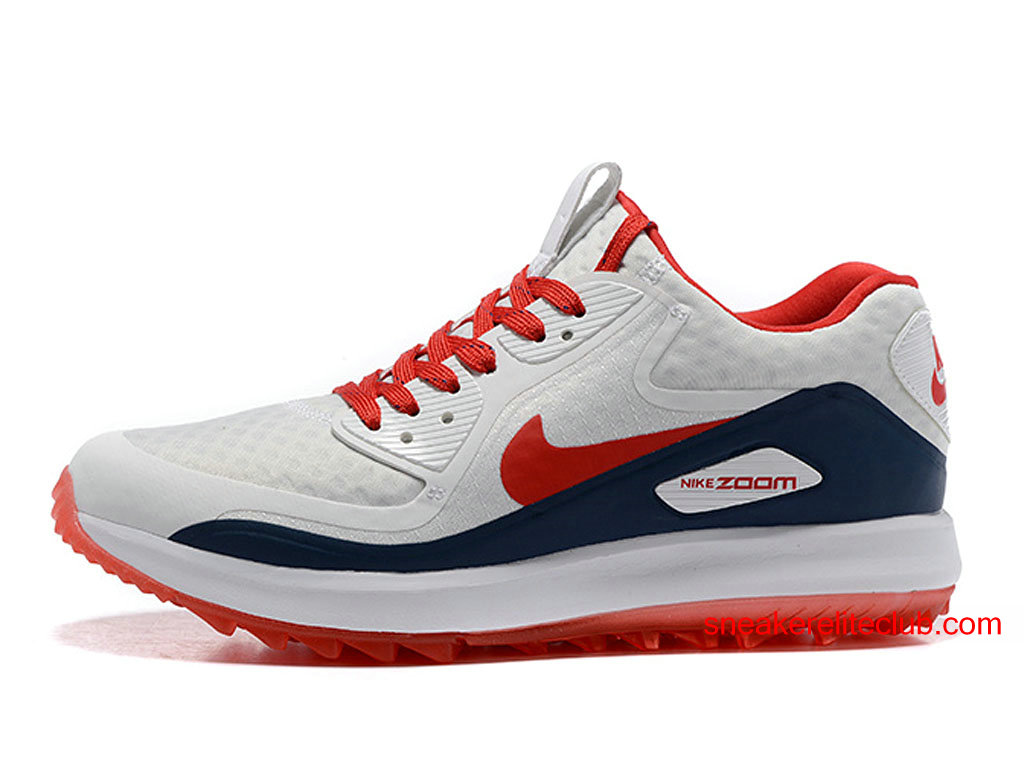 finest selection ee7e5 2abb1 Nike Air Zoom 90 IT ID - Men´s Golf Shoes Cheap White Red