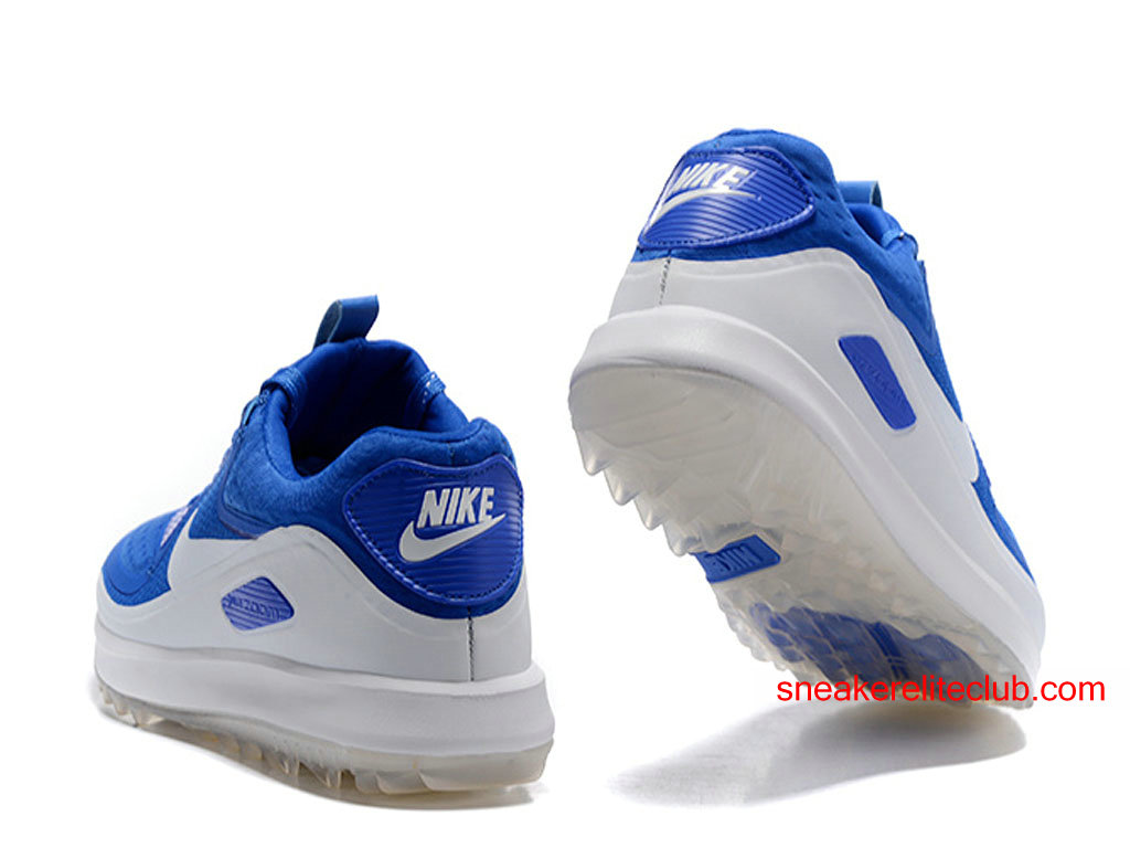 Nike Air Zoom 90 IT ID  Mens Golf Shoes Cheap BlueWhite