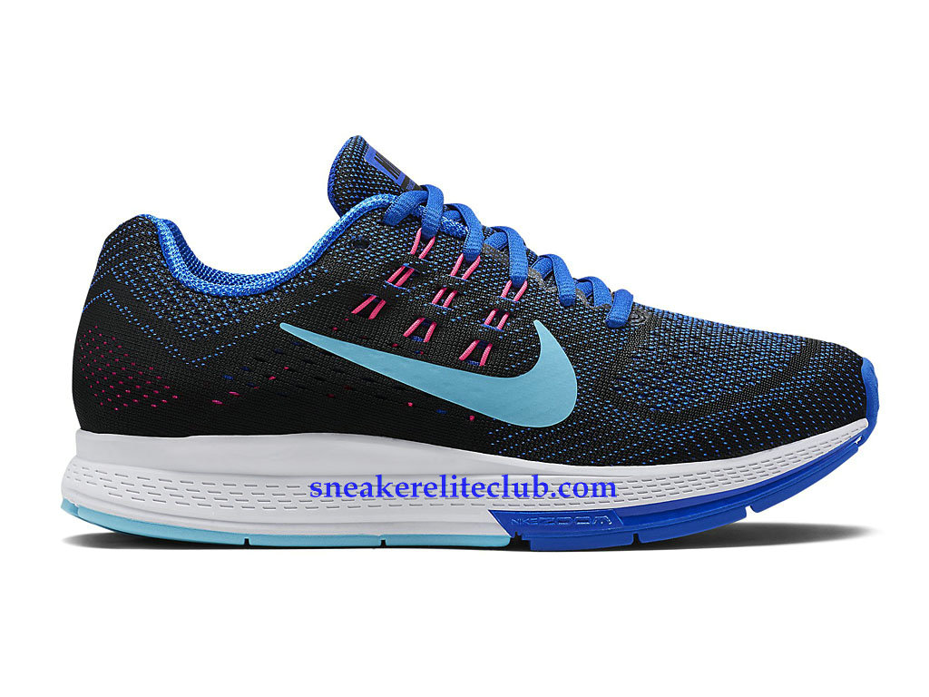 Nike Air Zoom Structure 18 GS Women´s Shoes Cheap Black/Blue/Pink