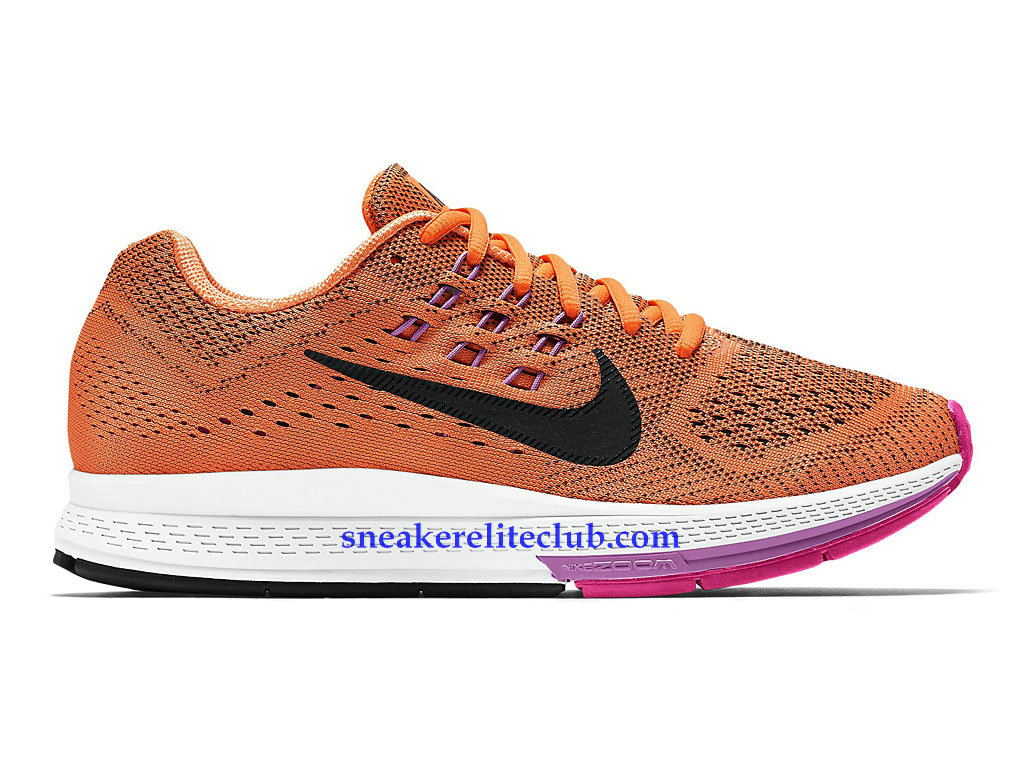 quality design abbf6 af3ac Nike Air Zoom Structure 18 GS Prix Shoes Cheap For Women´s Orange Black