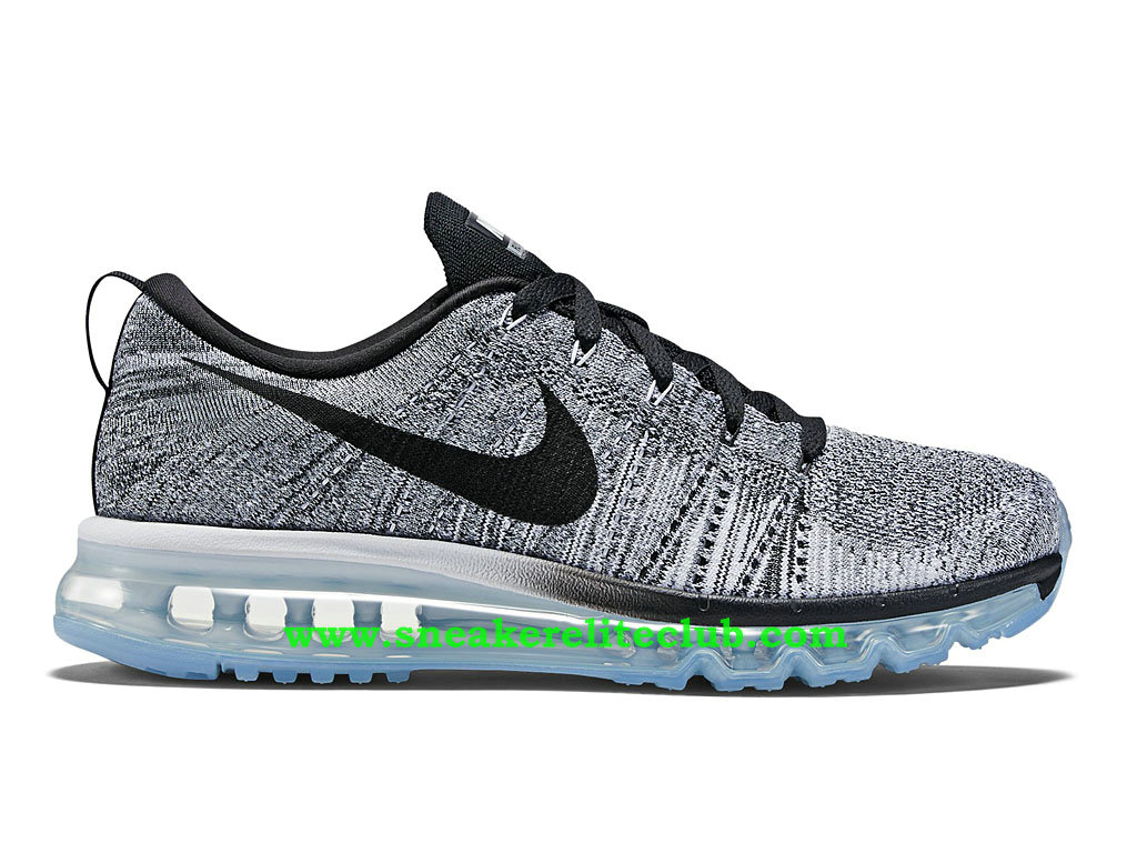 Nike Flyknit Air Max Chaussures Running Pour Homme White/Black/Cool Grey 620469_102