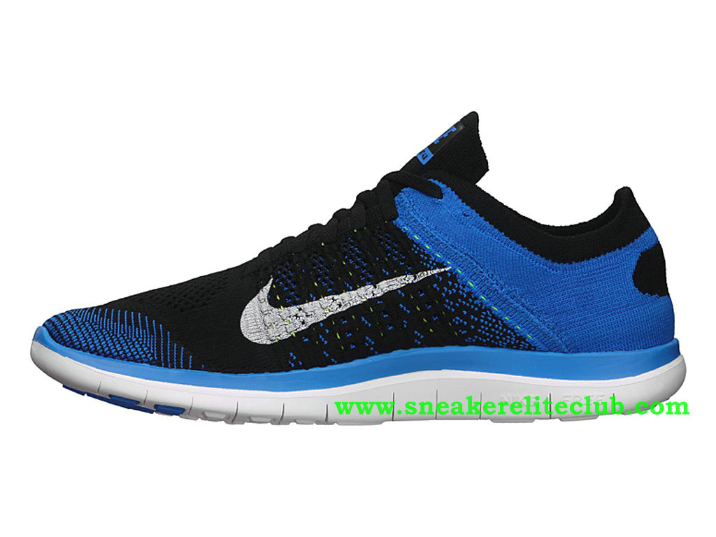 the latest 25eaf 0cc63 ... where to buy nike free 4.0 flyknit mens shoes blue black 9acbf 3620d