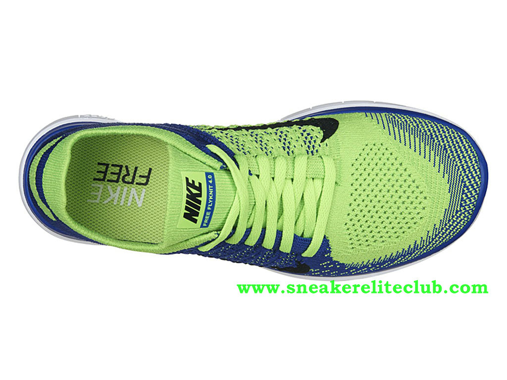 sports shoes f37e9 eda66 ... Nike Free 4.0 Flyknit Men´s Shoes Blue Green Black 631053-402