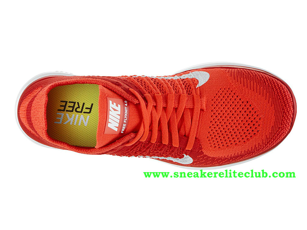 new concept 27c16 7973c ... Nike Free 4.0 Flyknit Men´s Shoes RedWhite 631053-601