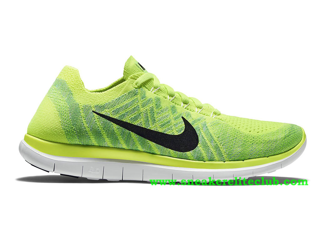 new style 41dfe 342ae Nike Free 4.0 Flyknit Men´s Shoes Green Black ...
