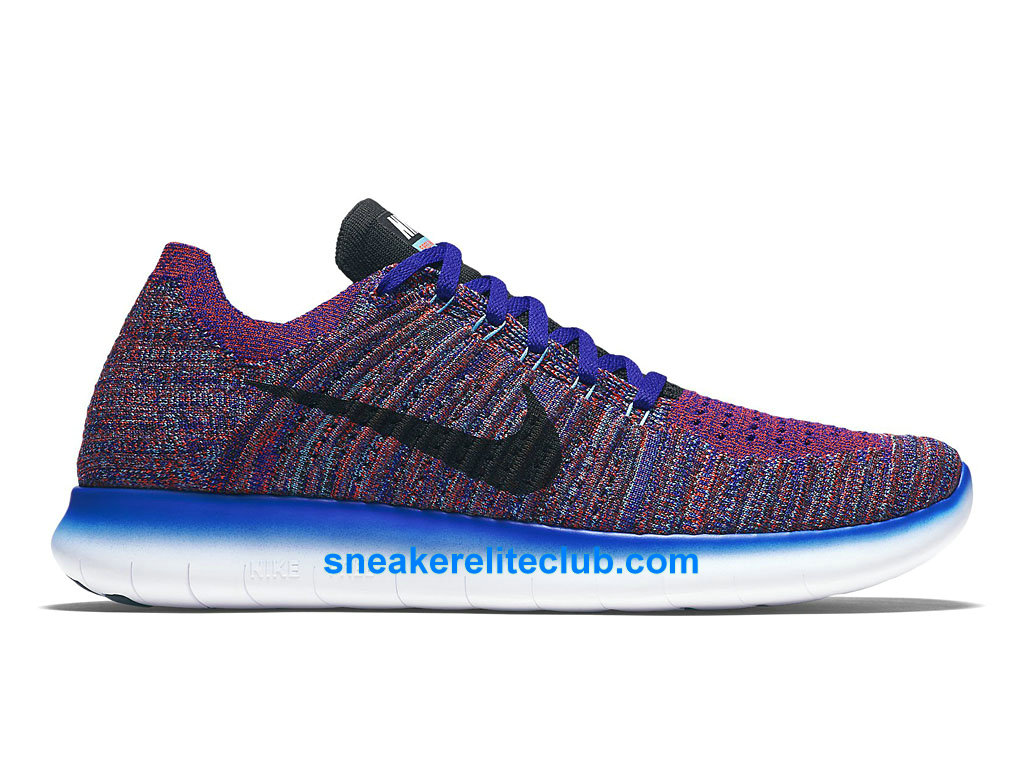 nike free rn motion flyknit prix chaussures de running pas cher pour homme harmonie bleu gamma. Black Bedroom Furniture Sets. Home Design Ideas