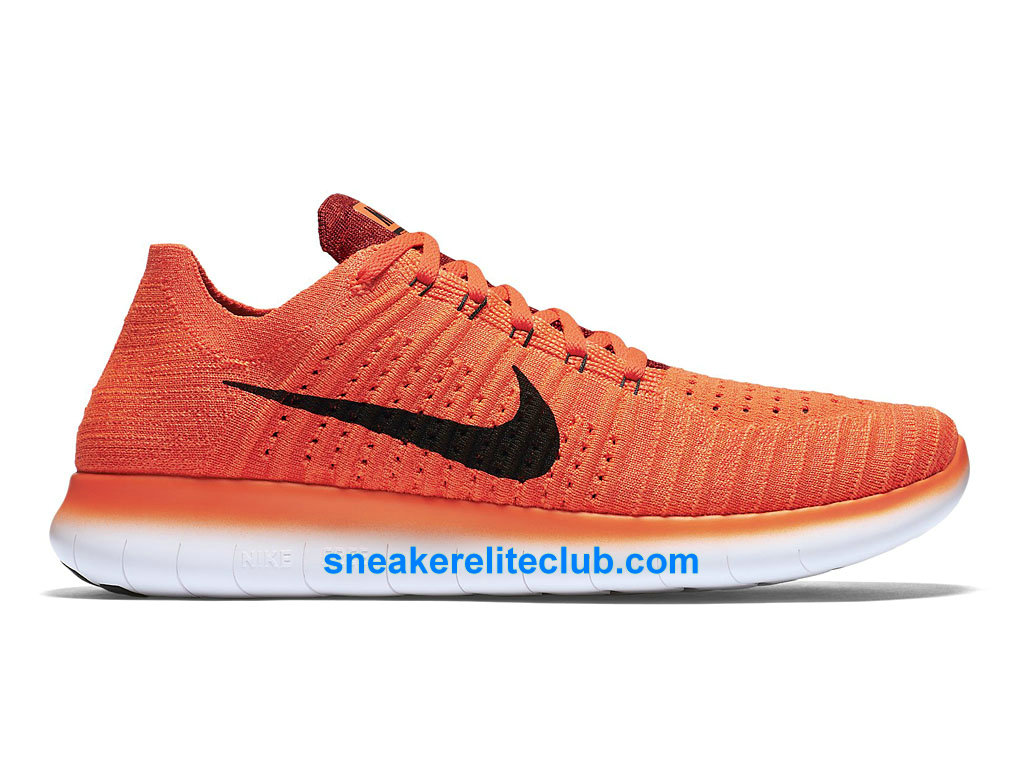 sélection premium d523f 32aa3 Nike Free RN Motion Flyknit Prix - Cheap Running Shoes For Men´s  Red/Orange/Black 831069_600