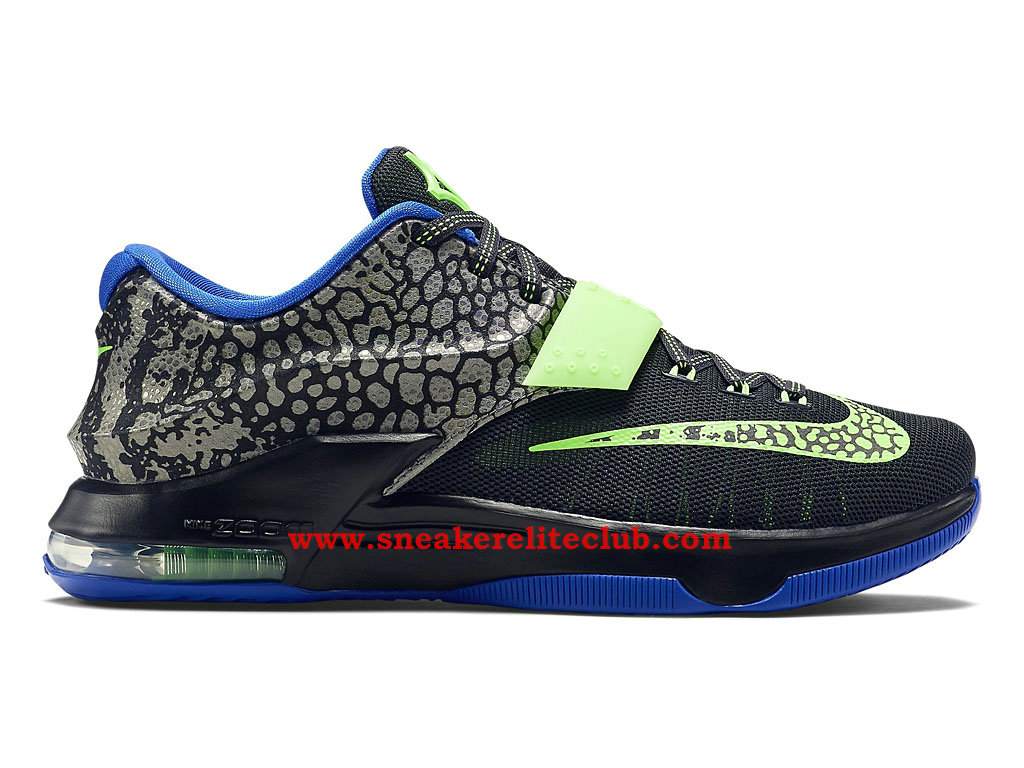 timeless design 51f57 6c92b Nike KD 7/VII Electric Eel Men´s Black Blue Green 653996-030 - Nike ...