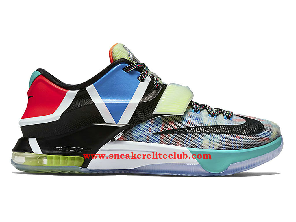 Nike KD 7/VII What The Homme Multi Color/Black Horizon 801778-944