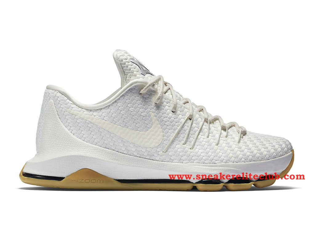 Nike KD 8 EXT Homme BasketBall Blanc 806393_100