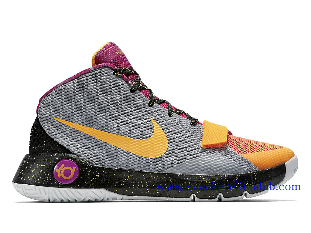 pretty nice 40a12 88022 Nike KD Trey 5 III Men´s Cheap Gray Orange Purple 812570-090