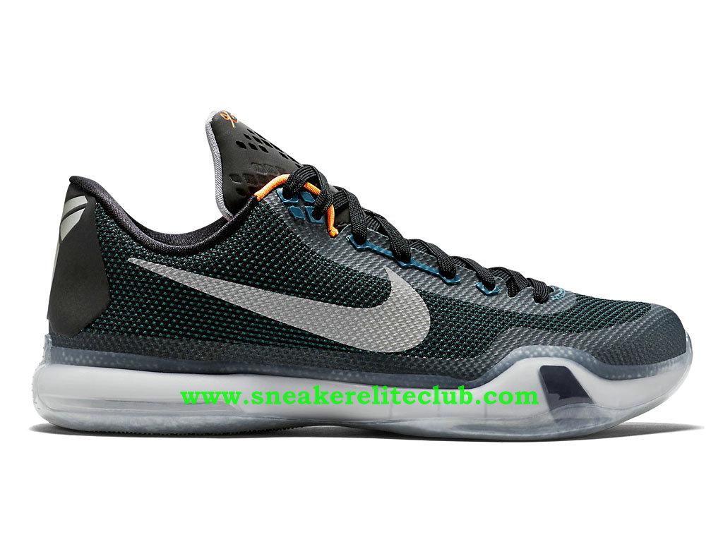 nike kobe x 10 chaussure de basketball pour homme bleu gris noir 705317 308 1512181243. Black Bedroom Furniture Sets. Home Design Ideas