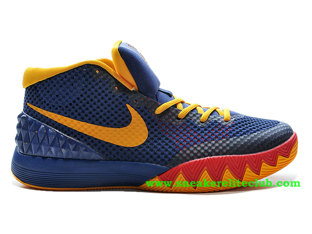 Nike Kyrie 1 57 Points Chaussure Pour Homme Bleu/Jaune/Rouge 705277-ID1