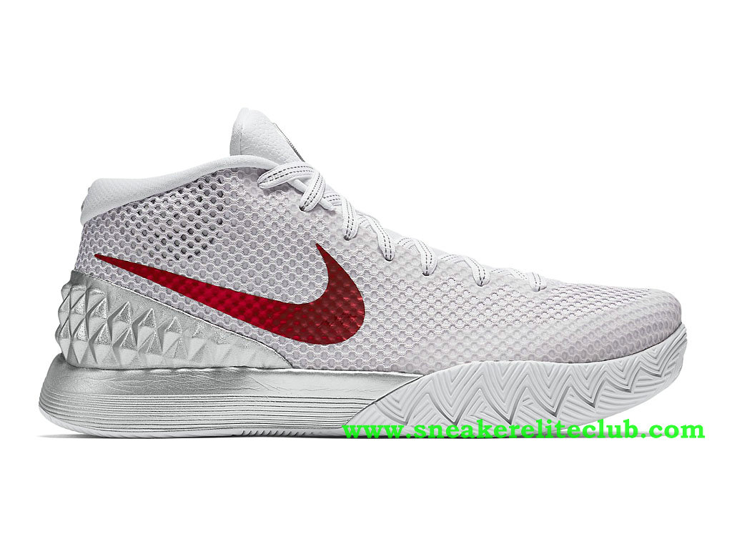low priced 13a42 590a8 Nike Kyrie 1 EP Double Nickel Men´s Shoes White Red Silver 812653 ...