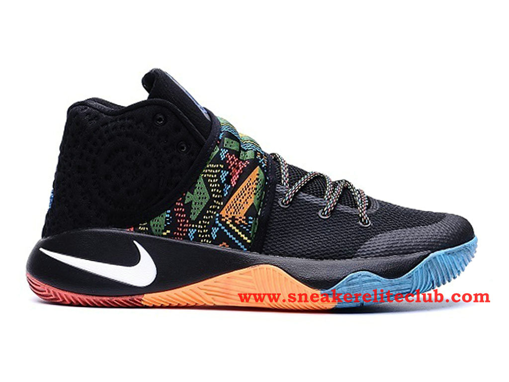 check out b3bef 41e79 Nike Kyrie 2 Men´s BasketBall Shoes Black/White/Blue/Color 828375-099