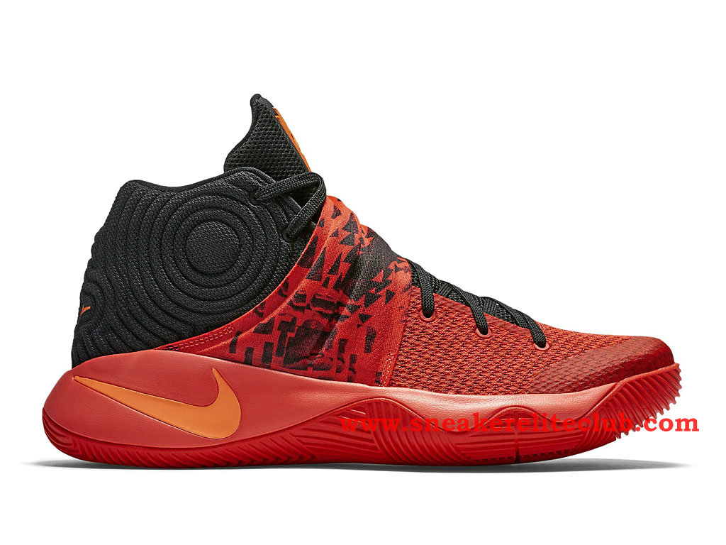 Nike Kyrie 2 Inferno Chaussure De BasketBall Pour Homme Noir/Rouge/Orange 819583-680