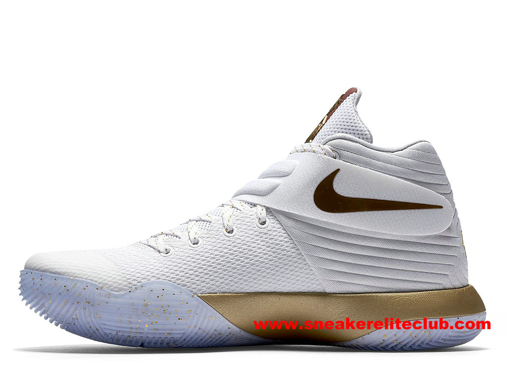 Nike kyrie 2 price game 3 homecoming men s basketball shoes cheap white gold red 925433 900 for Prix gravillon blanc pour allee