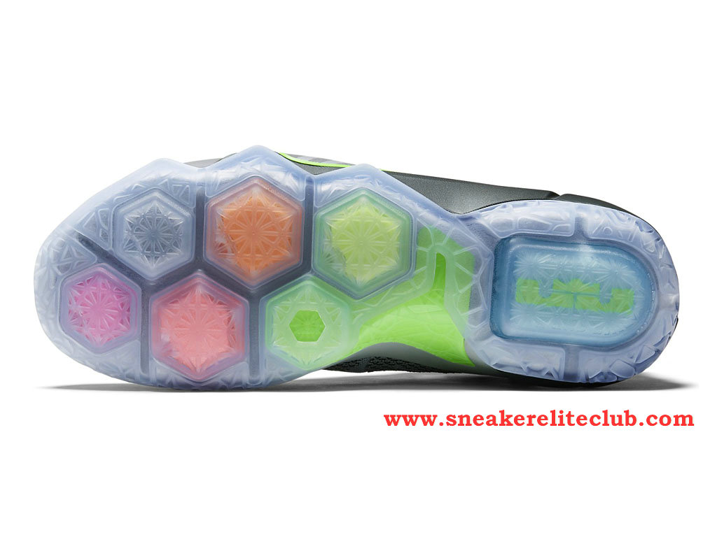 0058f4b4cb2 ... Nike Lebron 12 XII Dunk Force BasketBall Shoes For Men´s Wolf Grey  ...