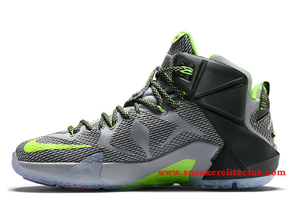 best website 86a4a 8f3ae ... Nike Lebron 12 XII Dunk Force BasketBall Shoes For Men´s Wolf Grey  ...