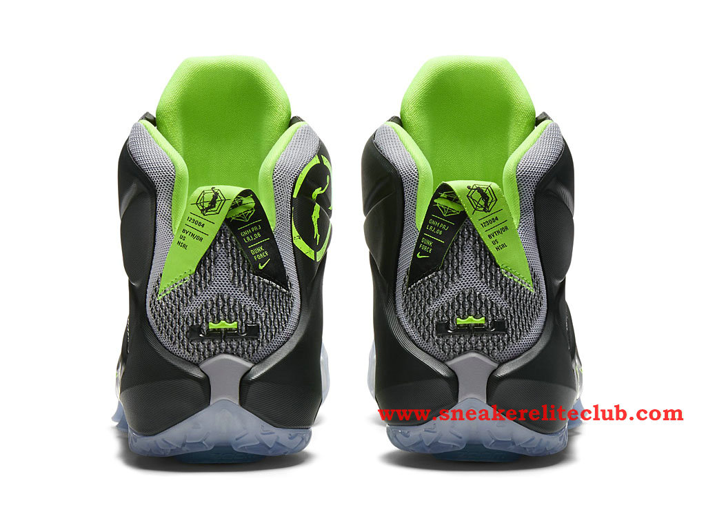 buy popular 10d33 0ecbd ... Nike Lebron 12 XII Dunk Force BasketBall Shoes For Men´s Wolf Grey