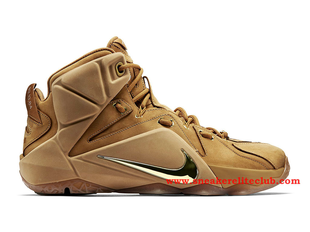 Nike Lebron 12/XII EXT Wheat Chaussure Basket Pour Homme Wheat/Wheat-Metallic Gold
