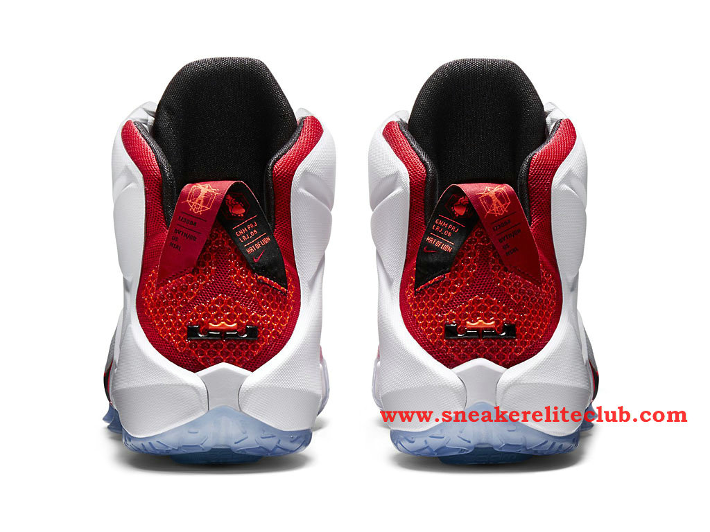 check out 02f8e b111e ... Nike Lebron 12 XII Lion Heart BasketBall Shoes For Men´s University Red