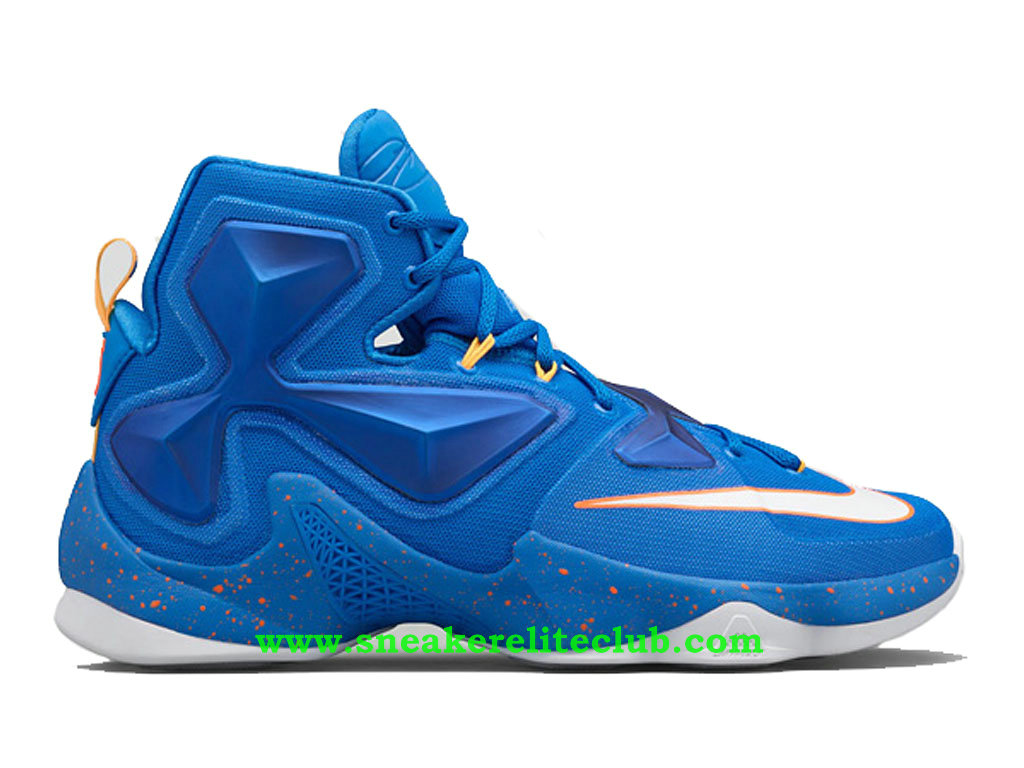 nike lebron xiii 13 balance chaussure de basketball pas cher pour homme bleu 807219 418. Black Bedroom Furniture Sets. Home Design Ideas