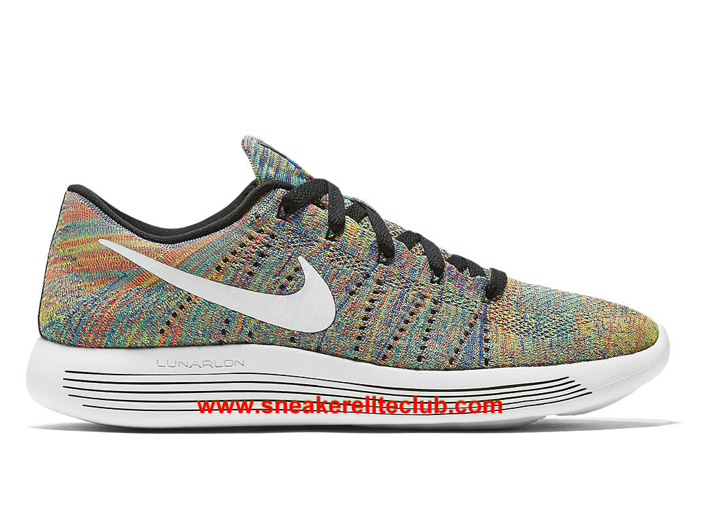 Nike LunarEpic Low Flyknit Prix - Chaussures Pour Homme Multi Color